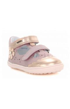 Босоножки с закрытым носком Bartek 81798-5/91P, для девочек, розово-золотые