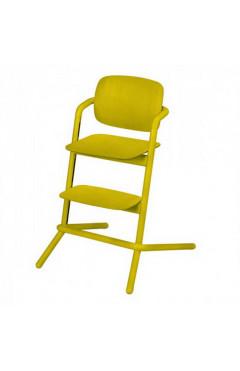 Детский стул Cybex Lemo Wood Canary Yellow