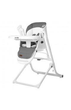 Стульчик-качалка CARRELLO Triumph CRL-10302 Palette Grey /1/ MOQ, с рождения, музыкальный модуль, серый