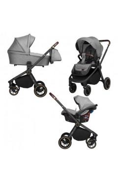 Универсальная коляска CARRELLO Epica CRL-8511/1 3 в 1 Silver Grey