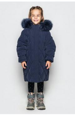 Зимнее пальто на девочку, ДЖУН ДОШК. экопух, р.104,110,116,122, Cvetkov Украина