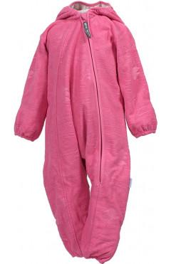 Детский комбинезон для девочки DANDY, с капюшоном, утепленный, флис, розовый, р. 62,68,80,86 Huppa Эстония