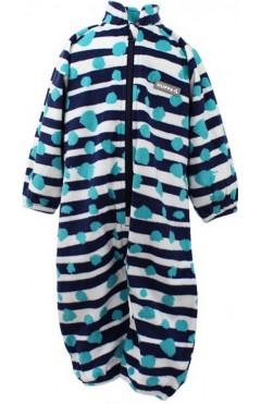 Детский комбинезон для мальчика ROLAND, утепленный, флис, темно-синий с принтом, р. 74,80,104,110,116,122 Huppa Эстония