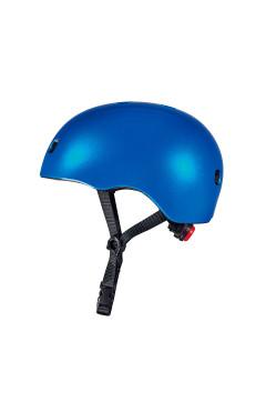 Защитный шлем MICRO - ТЕМНО-СИНИЙ МЕТАЛЛИК (52-56 cm, M)