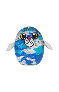 Мягкая игрушка с пайетками SHIMMEEZ S3 - ТЮЛЕНЬ ДЖЕННИ (20 cm)