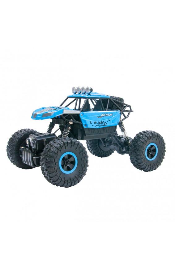 Автомобиль OFF-ROAD CRAWLER на р/у – SUPER SPORT (синий, 1:18), для мальчиков, sl-001rhb