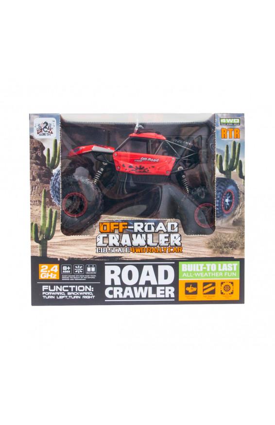 Автомобиль OFF-ROAD CRAWLER на р/у – SUPER SPORT (красный, 1:18), для мальчиков, sl-001rhr