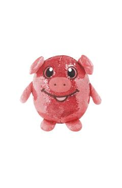 Мягкая игрушка с пайетками SHIMMEEZ – ВЕСЕЛАЯ СВИНКА (20 см)
