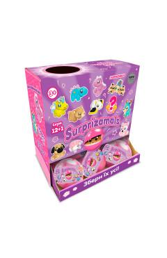 Мягкая игрушка-сюрприз в шаре SURPRIZAMALS S12+1 (11 видов в ассорт.)
