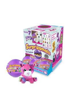 Мягкая игрушка-сюрприз в шаре SURPRIZAMALS S7 (15 видов в ассорт., в дисплее с