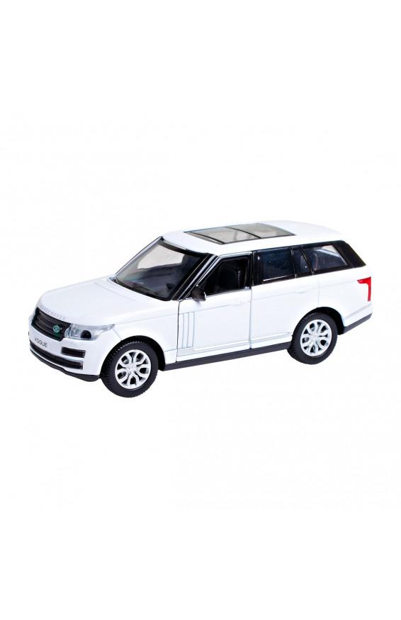 Автомодель - RANGE ROVER VOGUE (белый, 1:32), для мальчиков, vogue-wt