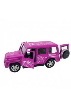 Автомодель GLAMCAR - MERCEDES-BENZ G-CLASS (фиолетовый)