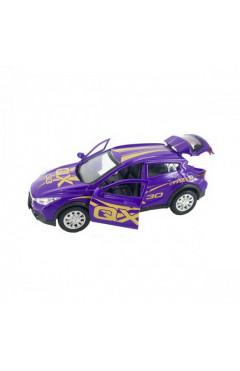 Автомодель GLAMCAR - INFINITI QX30 (фиолетовый)