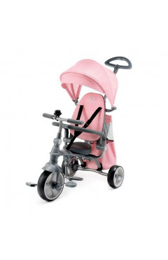 Трехколесный велосипед с родительской ручкой Kinderkraft Jazz Pink (KKRJAZZPNK0000) розовый