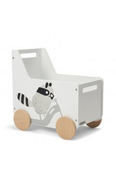 Ящик для игрушек Kinderkraft Racoon (KKHRACOSKR0000)