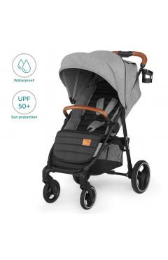 Прогулочная коляска Kinderkraft Grande LX Gray (KKWGRANGRY00LX)