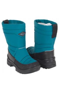 Зимние ботинки для мальчика, текстиль, кожа, мех р.23,24,25,28,31,32, Kuoma Финляндия