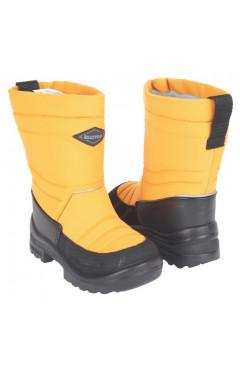 Зимние ботинки для девочки, текстиль, кожа, мех, р.23,24,25,26,28,30,31 Kuoma Финляндия