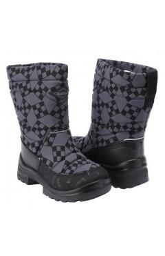 Зимние ботинки для мальчика, текстиль, кожа, мех р.22,24,25,26,28,29,30, Kuoma Финляндия