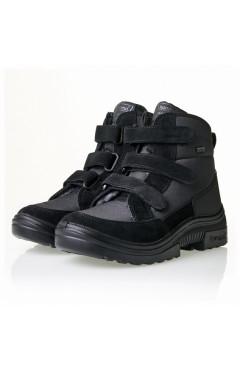 Демисезонные ботинки на мальчика, текстиль, р.35,36,38,39, Kuoma Финляндия