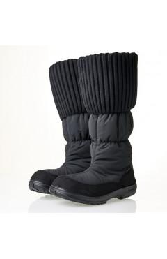 Демисезонные ботинки на девочку, текстиль, кожа, мех, р.36,37,38,39,40, Kuoma Финляндия