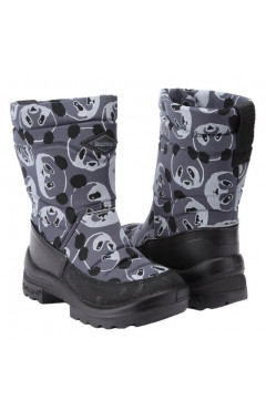 Зимние ботинки для мальчика, текстиль, кожа, мех р.24,25,26, Kuoma Финляндия