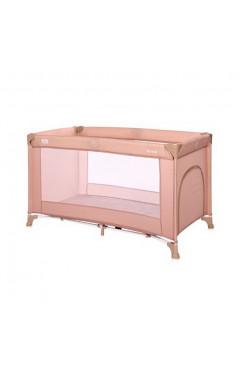 Манеж-кровать Lorelli TORINO 1L (misty rose) розовый