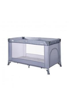 Манеж-кровать  Lorelli TORINO 1L (silver blue) голубой