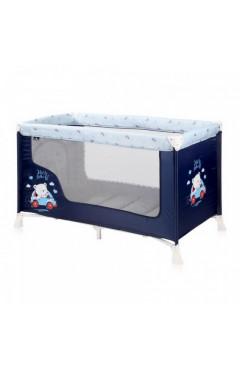 Манеж-кровать Lorelli SR 1L (blue bear) синий