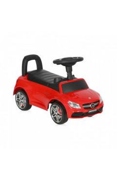 Машинка-каталка Lorelli MERCEDES-AMG C63 Coupe (red) звуковые эффекты, красный