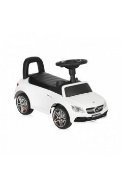 Машинка-каталка Lorelli MERCEDES-AMG C63 Coupe (white) звуковые эффекты, белый, для мальчиков, белый