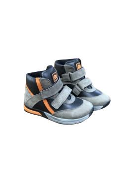 Детские ортопедические ботинки для мальчика, кожа, Minimen р. 20, 21, 22