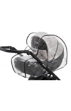 Дождевик для универсальной коляски Qvatro DQB-3 силикон, большой