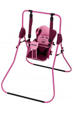 Качель Babyroom Casper  бордовый-св.розовый