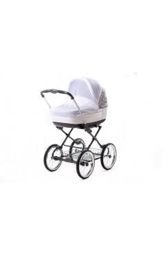 Москитная сетка для коляски Qvatro Moskquitoff03 универсальная  белая