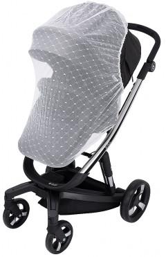 Москитная сетка для коляски Bair Electra для прогулочной коляски  белая