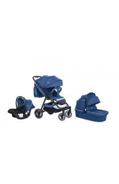 Прогулочная коляска Bubago Model Q 3 в 1 Blue