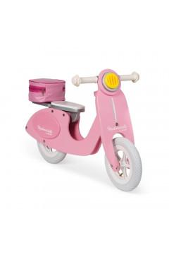 Janod Толокар - Ретро скутер (розовый)