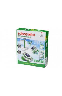 Same Toy Робот-конструктор - Солнцебот 6 в 1 на солнечной батарее