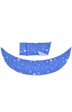 Nuvita Набор аксессуаров для подушки DreamWizard (наволочка, мини-подушка) Синий
