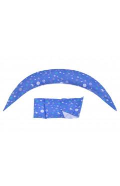 Nuvita Подушка для беременных 10 в 1 DreamWizard (синяя)