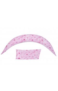 Nuvita Подушка для беременных 10 в 1 DreamWizard (розовая)