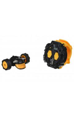 New Bright Машинка на р/у WATCHDOG CLOCK Yellow