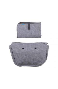MyMia Набор (подкладка и коврик для пеленания)[NV8802GREY]