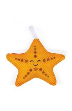 Janod Игрушка для купания - Мочалка Морская звезда