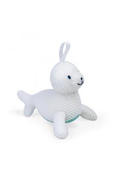 Janod Игрушка для купания - Мочалка Тюлень