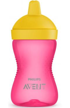 Avent Чашка-непроливайка, с твердым носиком, 18мес+, 300 мл[SCF804/04]