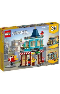 LEGO Конструктор Creator Городской магазин игрушек 31105