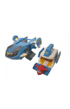 Super Wings Игровой набор Air Moving Base, Воздушная База, свет, звук