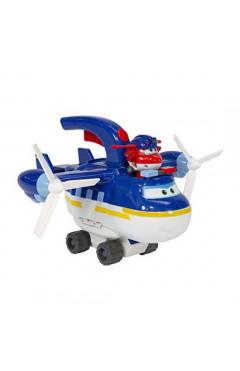 Super Wings Игровой набор 2-in-1 Police Patroller 2в1 Полицейский транспорт
